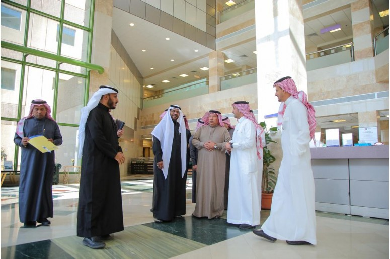 The General Director of Health Affairs visits QNH