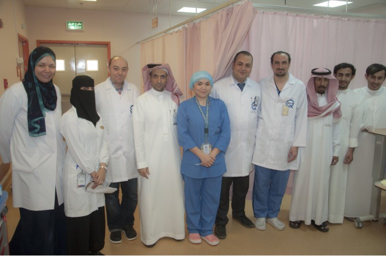 A complicated surgery saves an eighty woman at QNH