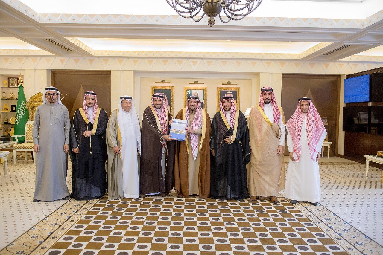 Prince of Al-Qassim receives the Board members of QMS