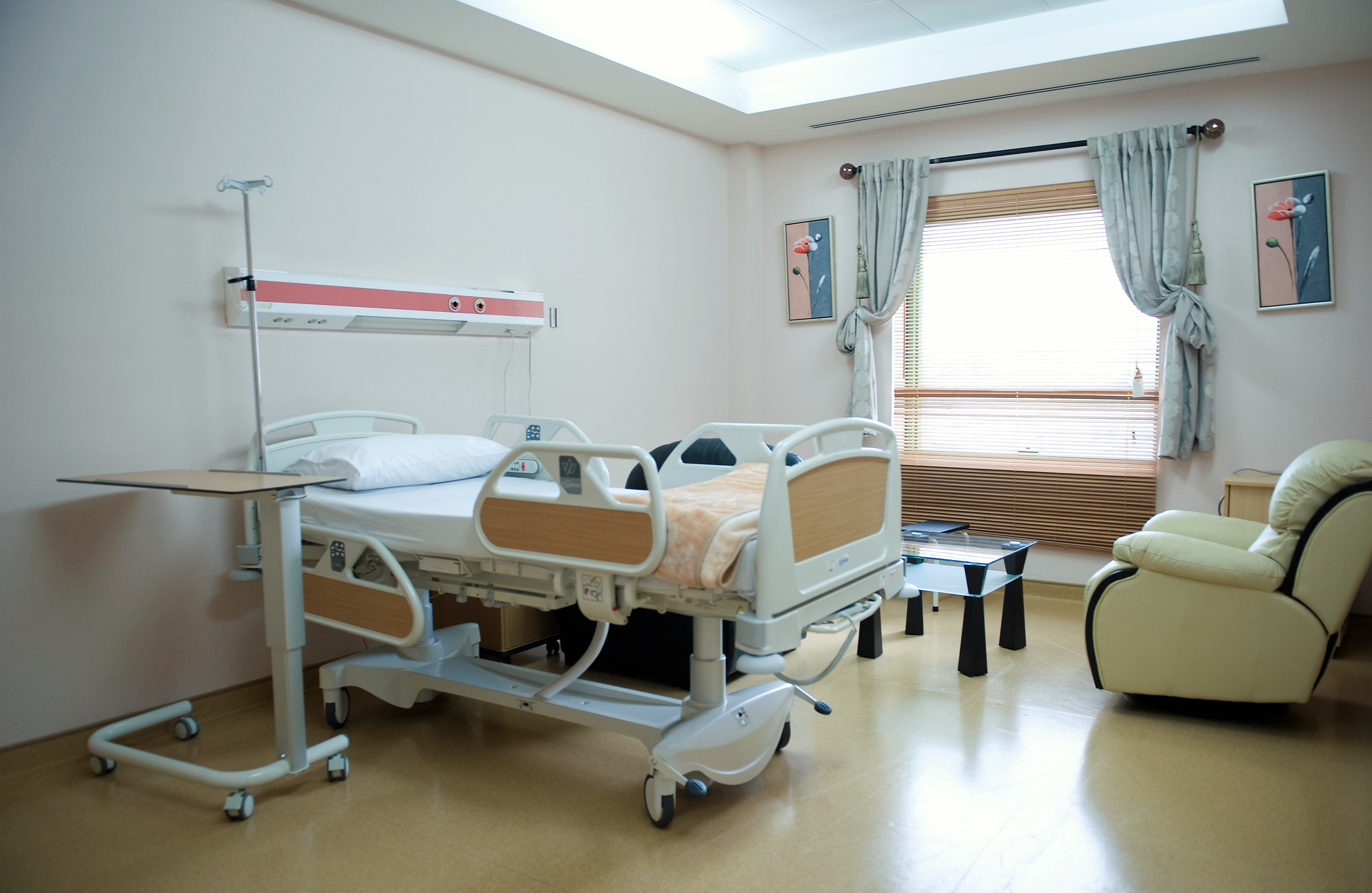 Inpatient private rooms